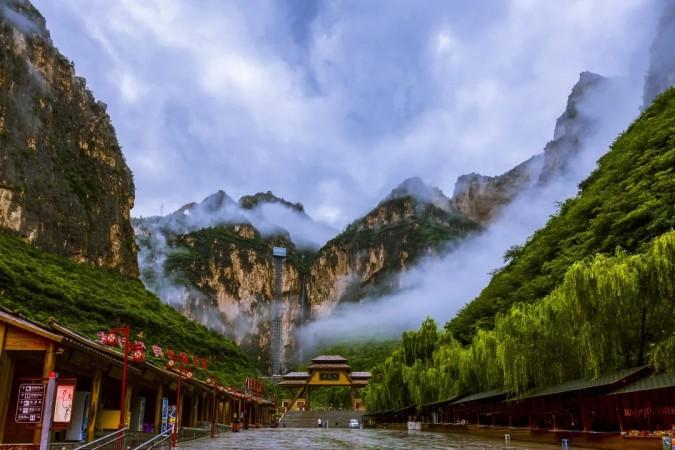 """雨后的太行山大峡谷,别有一番""""味道"""""""