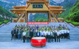 太行山大峡谷八泉峡景区举办职工活动友谊赛